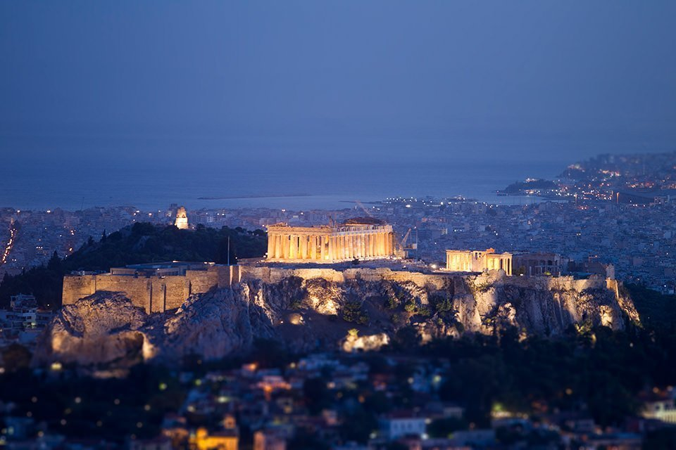 Night Athens Photo tour