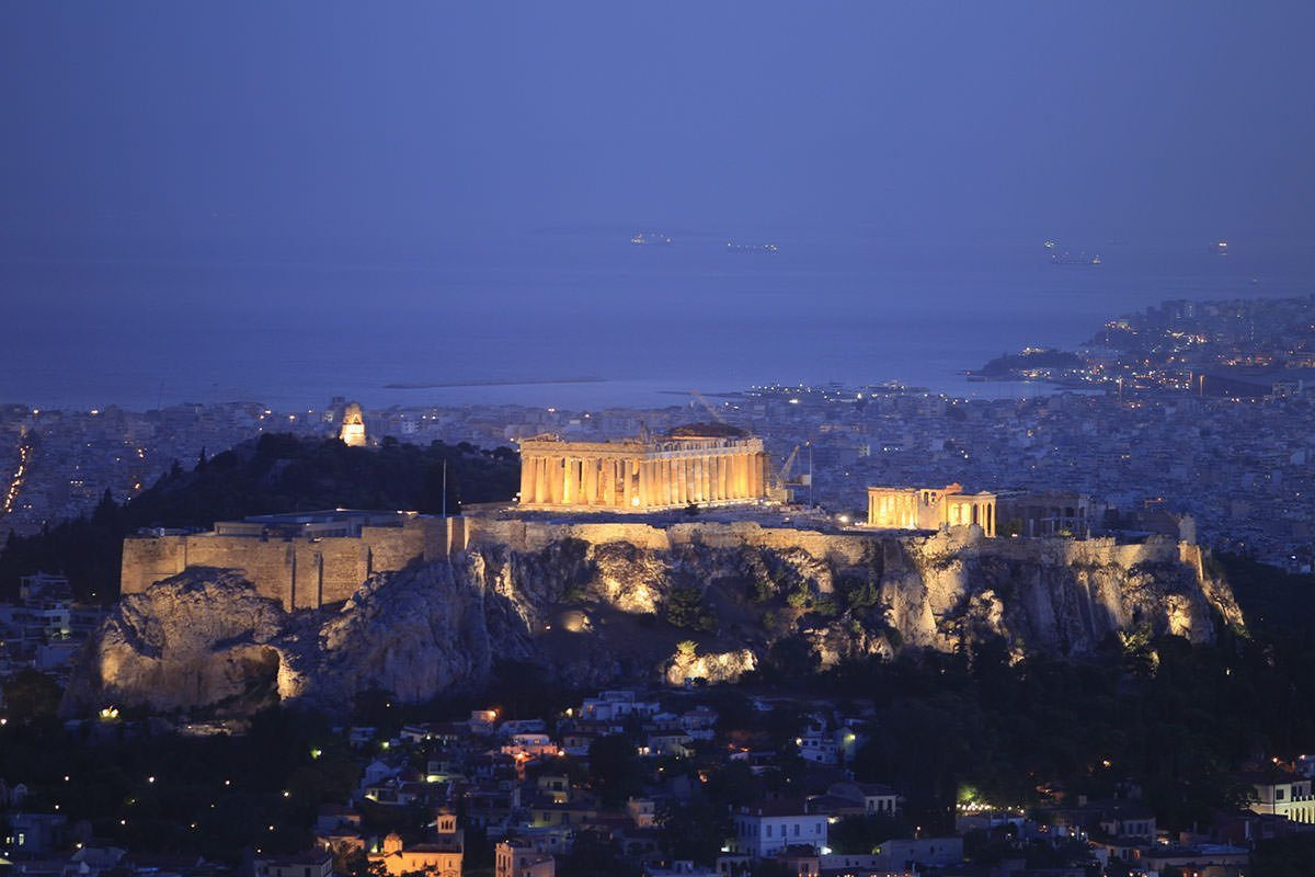 Athens Photo Tour by night, Athens Walking tours
