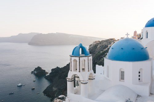 Santorini Photography Tour - Blue Dome church