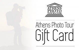 Gift Cards for Athens Photo Tours