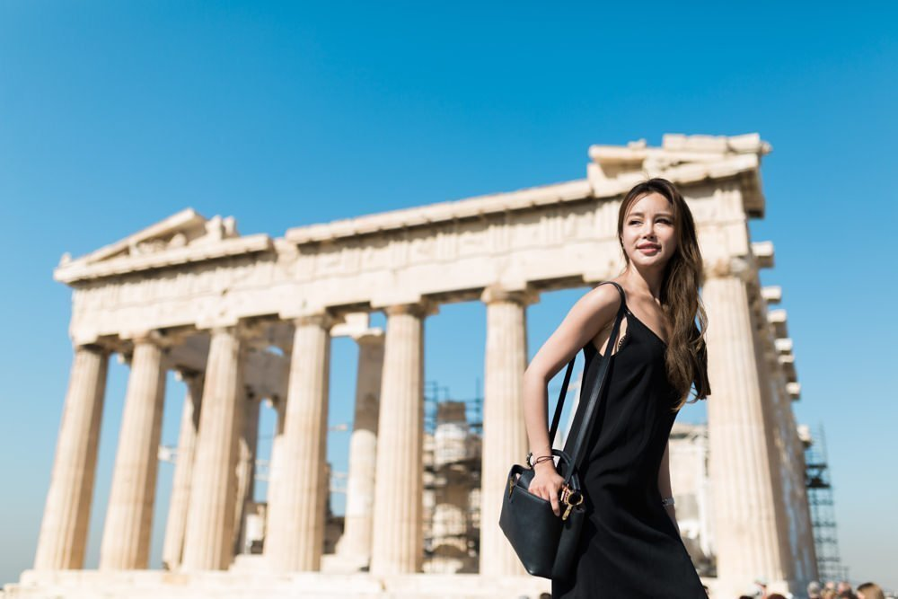 Acropolis, Athens photo shoot